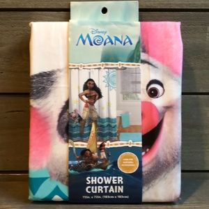 Disney Moana Shower Curtain New in Package